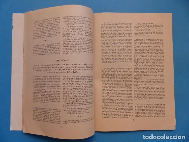 Coleccionismo deportivo: PUCHADES VALENCIA C.F. - BIOGRAFIA DE UN FUTBOLISTA VALENCIANO POR JOSE MARIA ARRAIZ - AÑO 1959 - Foto 12 - 193056510