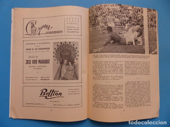 Coleccionismo deportivo: PUCHADES VALENCIA C.F. - BIOGRAFIA DE UN FUTBOLISTA VALENCIANO POR JOSE MARIA ARRAIZ - AÑO 1959 - Foto 14 - 193056510