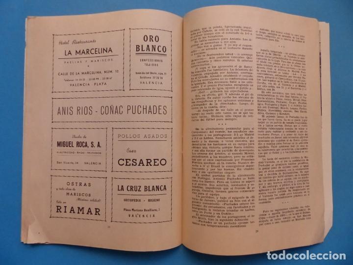 Coleccionismo deportivo: PUCHADES VALENCIA C.F. - BIOGRAFIA DE UN FUTBOLISTA VALENCIANO POR JOSE MARIA ARRAIZ - AÑO 1959 - Foto 17 - 193056510