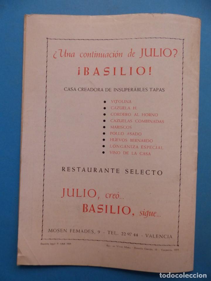 Coleccionismo deportivo: PUCHADES VALENCIA C.F. - BIOGRAFIA DE UN FUTBOLISTA VALENCIANO POR JOSE MARIA ARRAIZ - AÑO 1959 - Foto 22 - 193056510