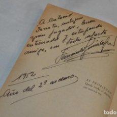 Coleccionismo deportivo: 1951/52 - EL FUTBOL CADA AÑO - FIDELITO / DEDICADO A ANTONIO IZNATA, JUGADOR Y ENTRENADOR ¡MIRA!. Lote 193177842