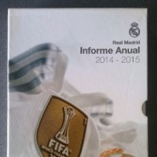 Coleccionismo deportivo: INFORME ANUAL REAL MADRID 2014 2015. Lote 193311161