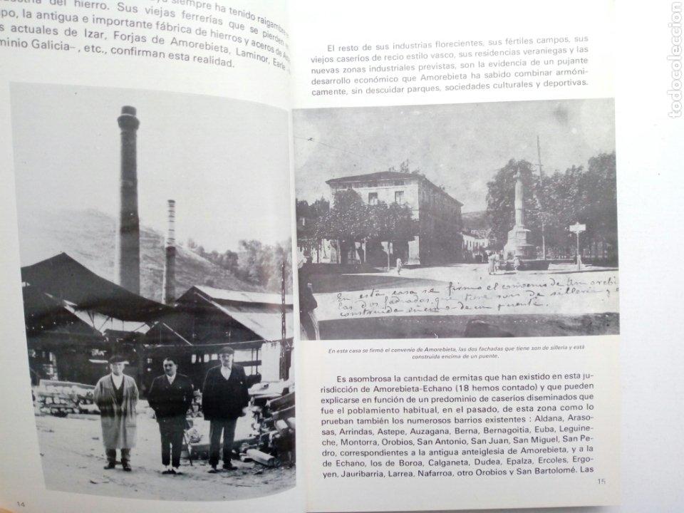 Coleccionismo deportivo: Libro: BODAS DE ORO DE LA SOCIEDAD DEPORTIVA AMOREBIETA 1925 - 1975 (SDA) - Foto 2 - 194116268