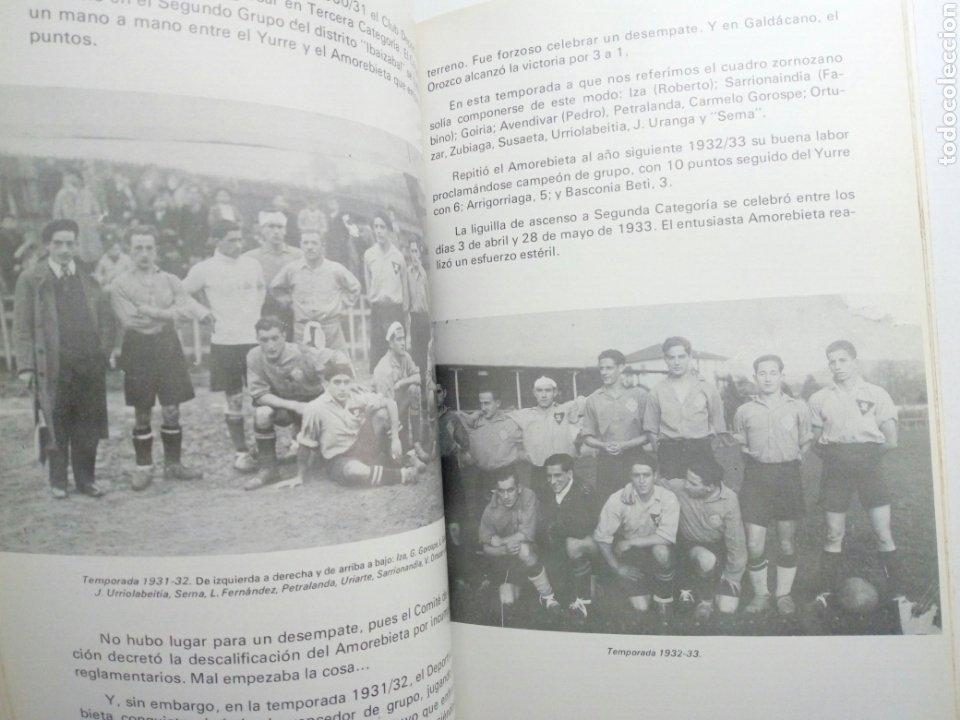 Coleccionismo deportivo: Libro: BODAS DE ORO DE LA SOCIEDAD DEPORTIVA AMOREBIETA 1925 - 1975 (SDA) - Foto 6 - 194116268