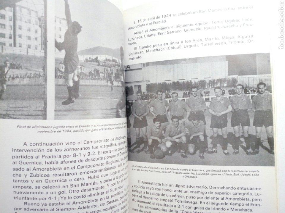 Coleccionismo deportivo: Libro: BODAS DE ORO DE LA SOCIEDAD DEPORTIVA AMOREBIETA 1925 - 1975 (SDA) - Foto 7 - 194116268