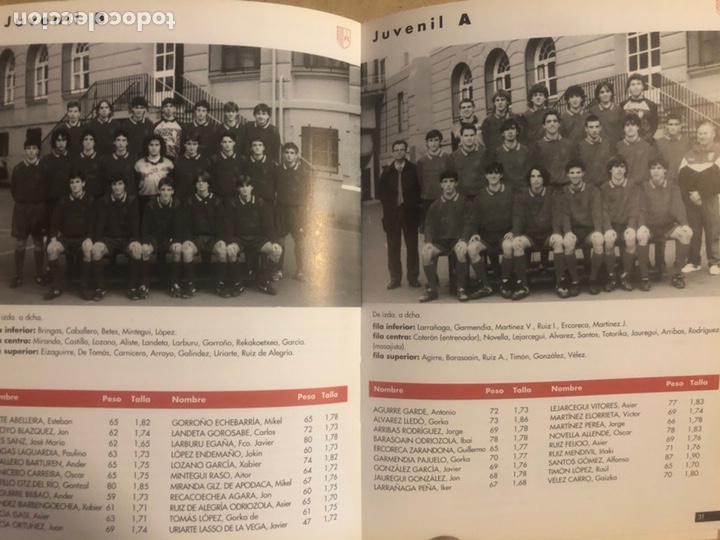 Coleccionismo deportivo: LOYOLA INDAUTXU FÚTBOL (BILBAO) TEMPORADA 1996/97. LIBRO CON TODOS LOS EQUIPOS. - Foto 2 - 194130120