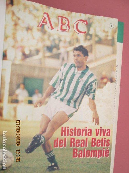 Coleccionismo deportivo: HISTORIA VIVA DEL REAL BETIS BALOMPIÉ - 1907-1993 - ABC 1992. - Foto 2 - 194190761