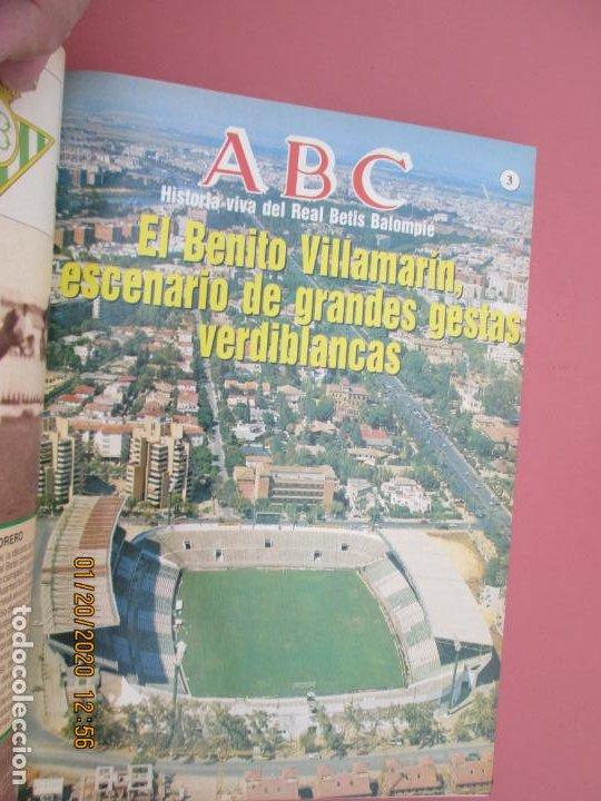 Coleccionismo deportivo: HISTORIA VIVA DEL REAL BETIS BALOMPIÉ - 1907-1993 - ABC 1992. - Foto 3 - 194190761