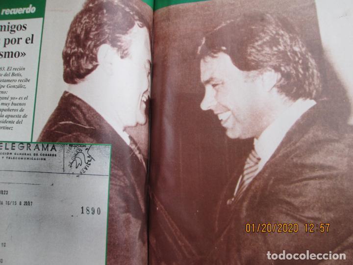 Coleccionismo deportivo: HISTORIA VIVA DEL REAL BETIS BALOMPIÉ - 1907-1993 - ABC 1992. - Foto 4 - 194190761