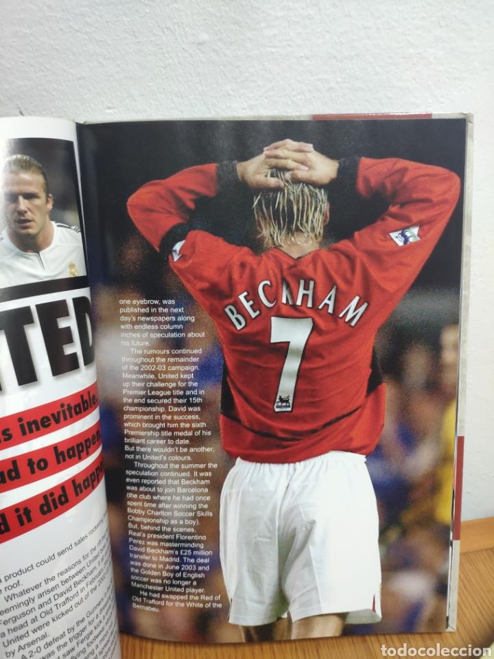 Coleccionismo deportivo: Anual David Beckham 2004 en inglés real madrid - Foto 4 - 194200267