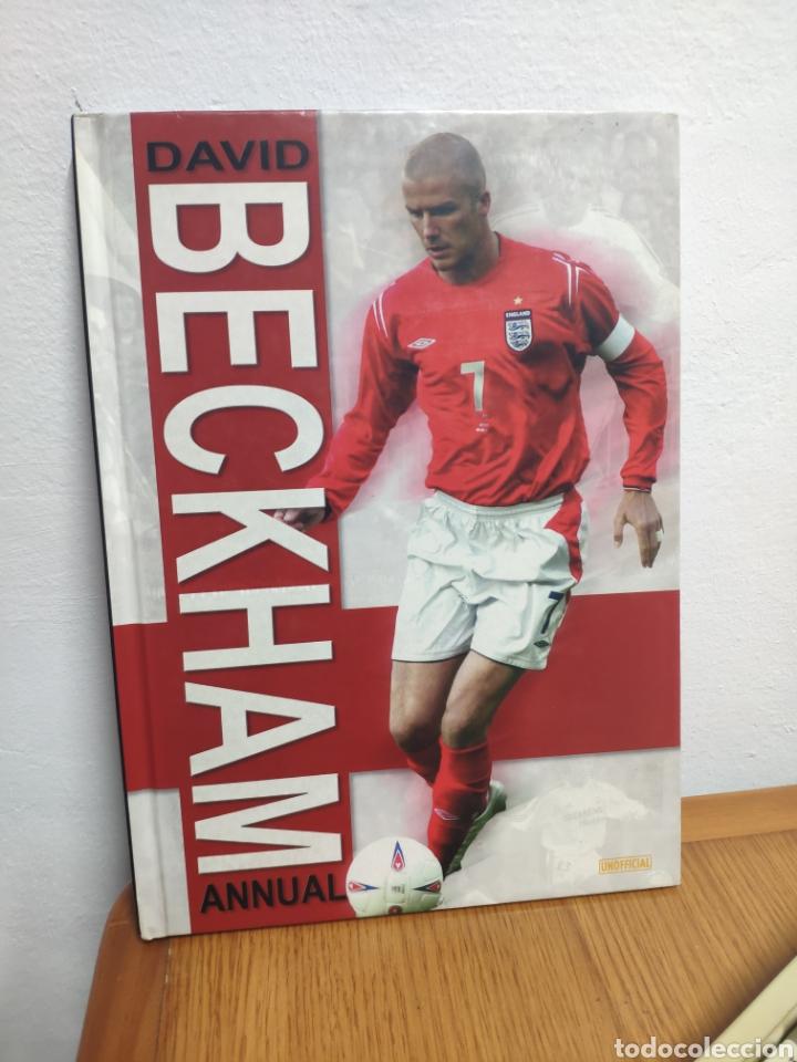 ANUAL DAVID BECKHAM 2004 EN INGLÉS REAL MADRID (Coleccionismo Deportivo - Libros de Fútbol)