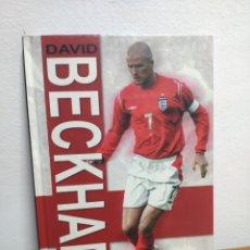 Coleccionismo deportivo: ANUAL DAVID BECKHAM 2004 EN INGLÉS REAL MADRID. Lote 194200267