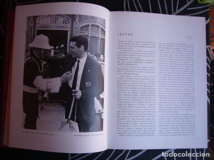 Coleccionismo deportivo: HISTORIA DEL C.F. BARCELONA 1971 . 416 PÁGINAS - Foto 5 - 194268291