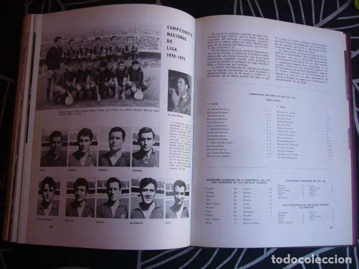 Coleccionismo deportivo: HISTORIA DEL C.F. BARCELONA 1971 . 416 PÁGINAS - Foto 10 - 194268291