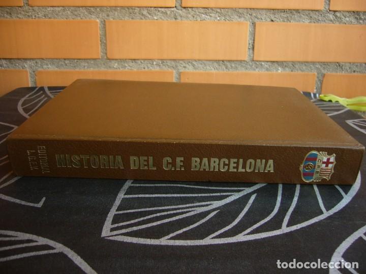 Coleccionismo deportivo: HISTORIA DEL C.F. BARCELONA 1971 . 416 PÁGINAS - Foto 15 - 194268291