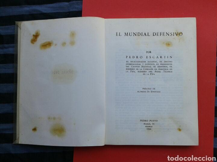 Coleccionismo deportivo: LIBRO EL MUNDIAL DEFENSIVO - Foto 2 - 194293028