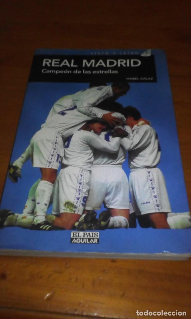 REAL MADRID CAMPEON DE LAS ESTRELLAS. MABEL GALAZ. EST22B4 (Coleccionismo Deportivo - Libros de Fútbol)