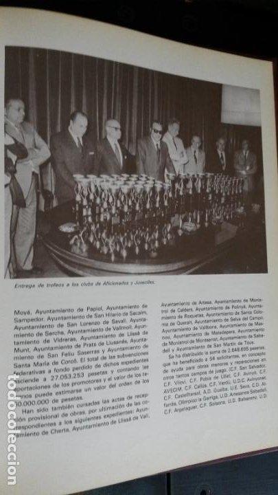 Coleccionismo deportivo: Ayer y hoy del fútbol Cátalan. Federación catalana de Fútbol 1900-1975. 75 º ANIVERSARIO bodas diam - Foto 8 - 194389855