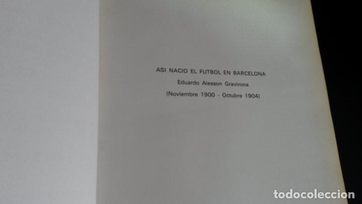 Coleccionismo deportivo: Ayer y hoy del fútbol Cátalan. Federación catalana de Fútbol 1900-1975. 75 º ANIVERSARIO bodas diam - Foto 10 - 194389855