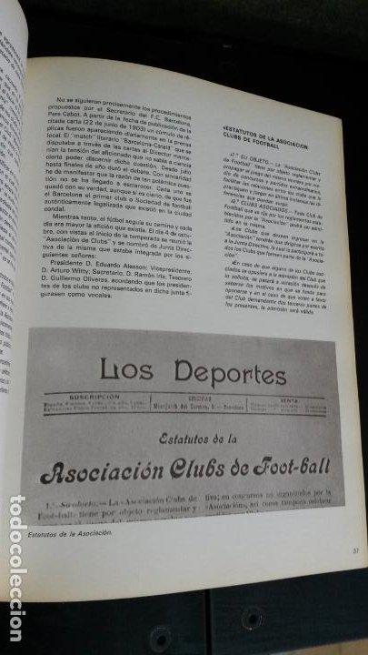 Coleccionismo deportivo: Ayer y hoy del fútbol Cátalan. Federación catalana de Fútbol 1900-1975. 75 º ANIVERSARIO bodas diam - Foto 14 - 194389855