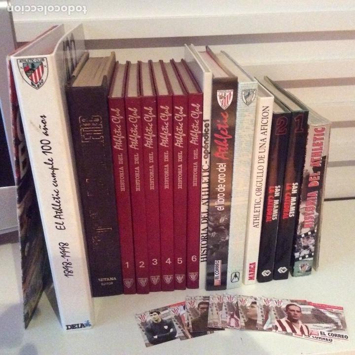 MEGALOTE ATHLETIC CLUB DE BILBAO 14 LOTES SOBRE EL ATHLETIC (Coleccionismo Deportivo - Libros de Fútbol)