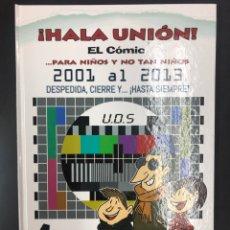 Coleccionismo deportivo: ¡HALA UNION! EL COMIC 4 - UDS DE 2001 A 2013, DESPEDIDA CIERRE Y HASTA SIEMPRE - V. SAMARKANDA 2000. Lote 194603745