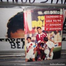 Coleccionismo deportivo: DON BALON CALENDARIO DE LIGA ( 93/94 ) 1ª Y 2ª DIVISION - SELECCION 50 PAGINAS 150 PTAS Nº 15. Lote 194705226
