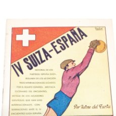 Coleccionismo deportivo: MINI LIBRO DE FUTBOL AÑO 1940. Lote 194707395