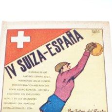 Coleccionismo deportivo: MINI LIBRO DE FUTBOL 1940. Lote 194708211
