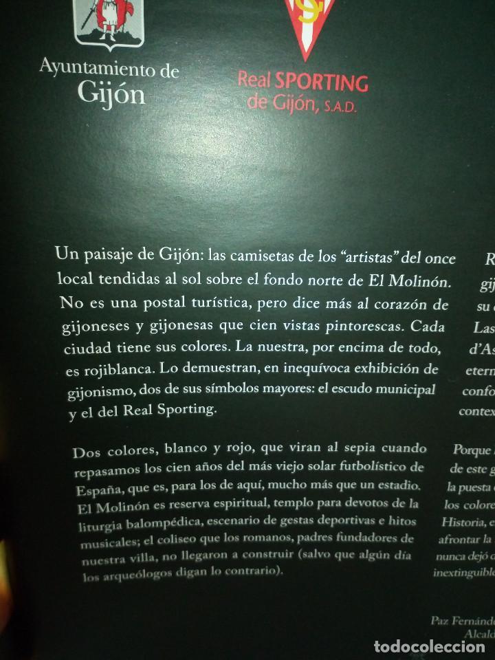 Coleccionismo deportivo: 162-HISTORIAS DEL MOLINON, 100 años dando juego, Real Sporting De Gijon, - Foto 3 - 194733053