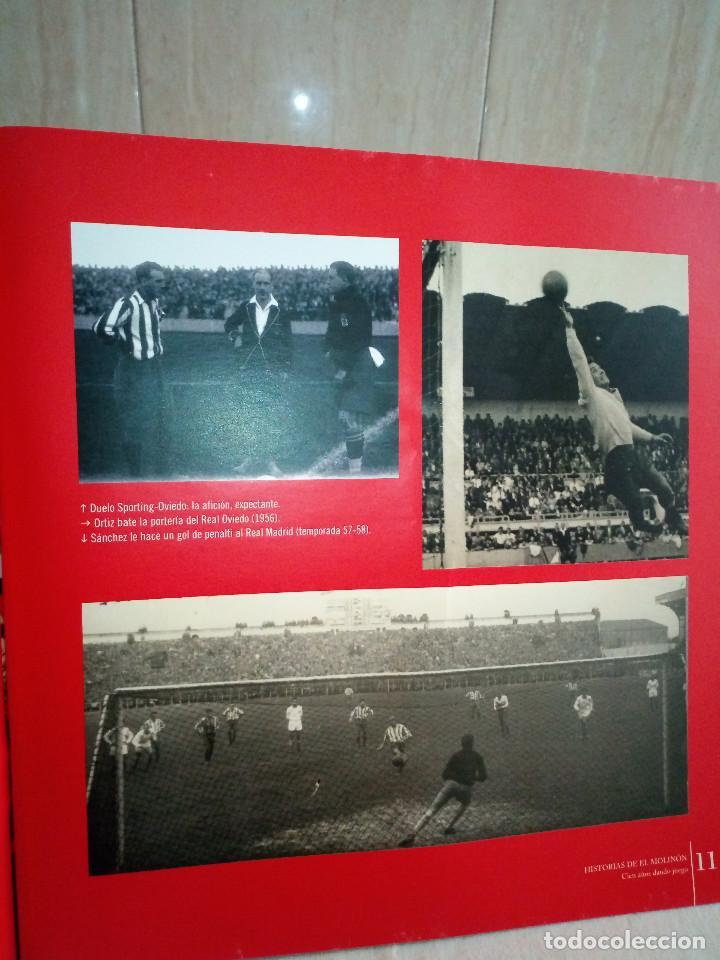 Coleccionismo deportivo: 162-HISTORIAS DEL MOLINON, 100 años dando juego, Real Sporting De Gijon, - Foto 7 - 194733053
