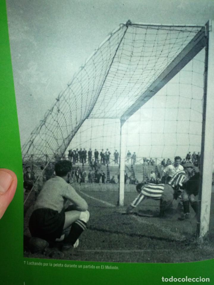 Coleccionismo deportivo: 162-HISTORIAS DEL MOLINON, 100 años dando juego, Real Sporting De Gijon, - Foto 8 - 194733053