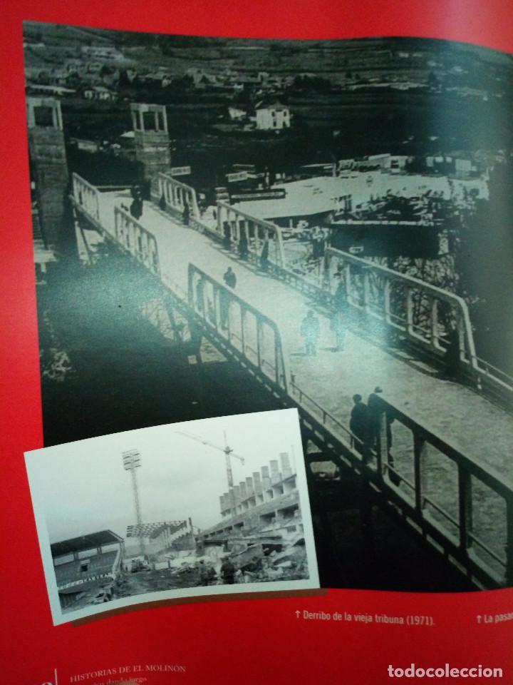Coleccionismo deportivo: 162-HISTORIAS DEL MOLINON, 100 años dando juego, Real Sporting De Gijon, - Foto 11 - 194733053