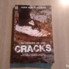 Coleccionismo deportivo: EL LEGADO DE LOS CRACKS - PABLO MORENO -. Lote 194775085