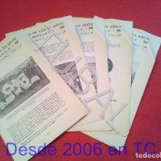 Coleccionismo deportivo: TUBAL HISTORIA DE LOS 55 AÑOS DEL SEVILLA C F 1960 FASCICULOS 2 3 4 5 Y 6 U23. Lote 194953946
