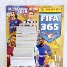 Coleccionismo deportivo: ALBUM PANINI. - FIFA 365 2018 - SET + ALBUM. Lote 212838695