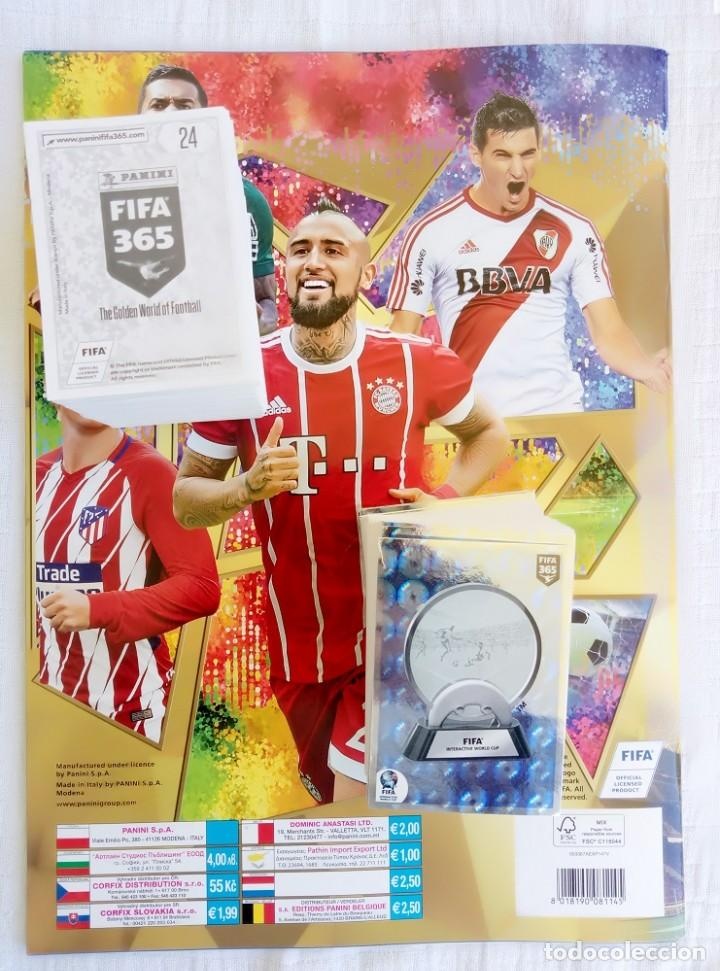 Coleccionismo deportivo: ALBUM PANINI. - FIFA 365 2018 - Set + Album - Foto 2 - 212838695