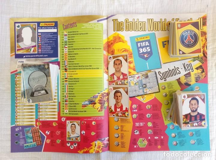 Coleccionismo deportivo: ALBUM PANINI. - FIFA 365 2018 - Set + Album - Foto 3 - 212838695