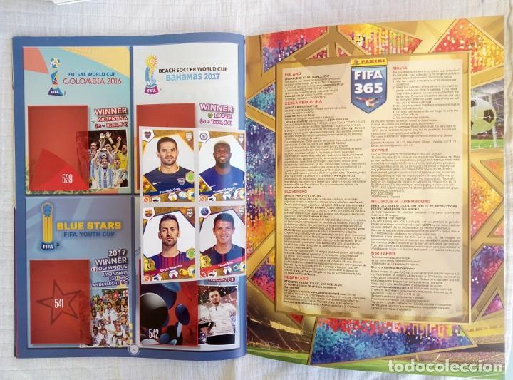 Coleccionismo deportivo: ALBUM PANINI. - FIFA 365 2018 - Set + Album - Foto 6 - 212838695