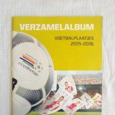 Coleccionismo deportivo: ALBUM PLUS. - EREDIVISIE VERZAMELALBUM VOETBALPLAATJES 2015-2016 -. Lote 195022972