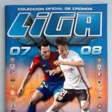 Coleccionismo deportivo: ALBUM ED. ESTE. - LIGA 2007-2008 -. Lote 195023763