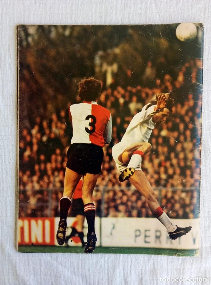 Coleccionismo deportivo: AMSTERDAM BOEK. - EUROPA CUP 71-72 - - Foto 2 - 195027913