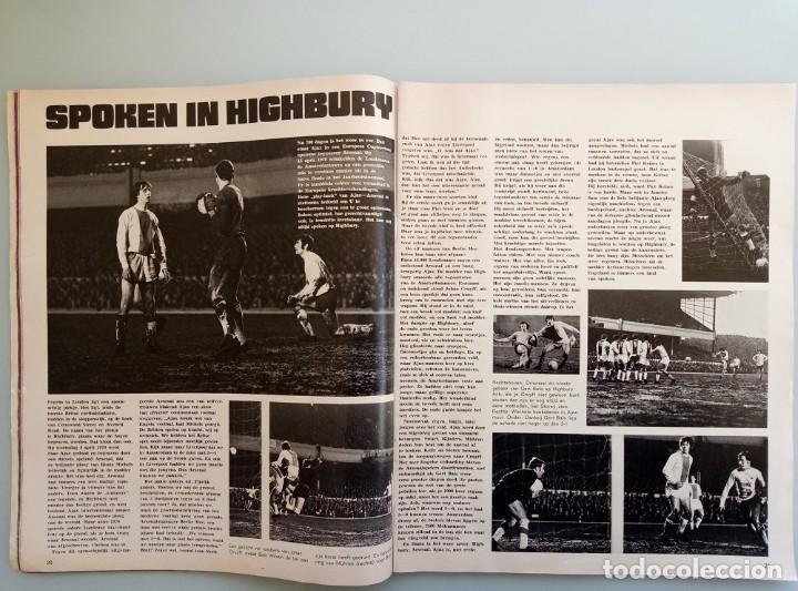Coleccionismo deportivo: AMSTERDAM BOEK. - EUROPA CUP 71-72 - - Foto 4 - 195027913