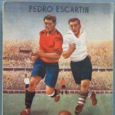 Coleccionismo deportivo: 1948.- REGLAMENTO DE FÚTBOL COMENTADO . Lote 195042156