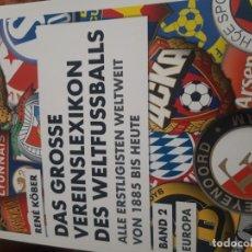 Coleccionismo deportivo: LIBRO DE ESCUDOS DE EQUIPOS EUROPEOS. Lote 195095450
