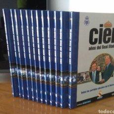 Coleccionismo deportivo: 12 LIBROS, 100 AÑOS DEL REAL MADRID, EDITADOS POR AS. Lote 195108090