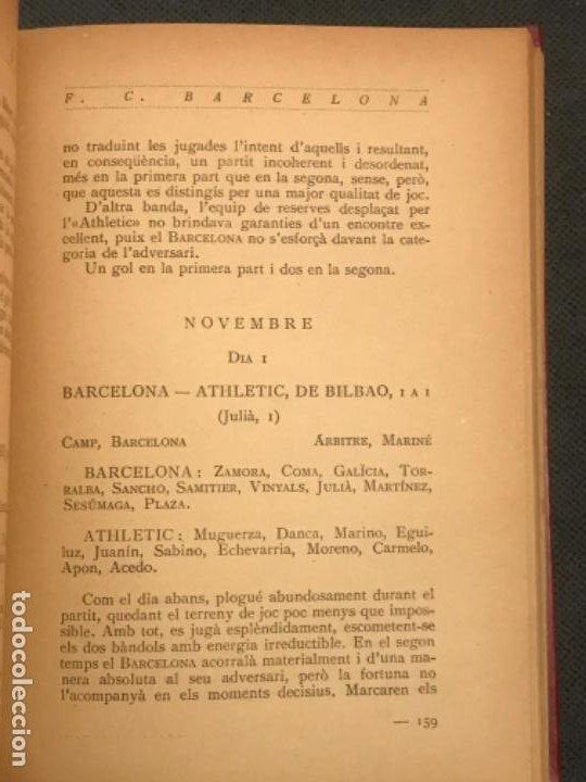 Coleccionismo deportivo: NOCES DARGENT DEL F.C. BARCELONA. 1899-1924. DANIEL CARBO I SANTAOLARIA. 2 VOLUMS. BARCELONA 1924. - Foto 5 - 195118325