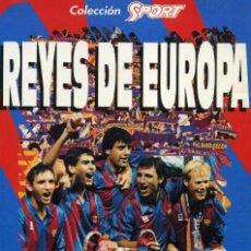 Coleccionismo deportivo: REYES DE EUROPA - COPA DE EUROPA 1992. Lote 195328753