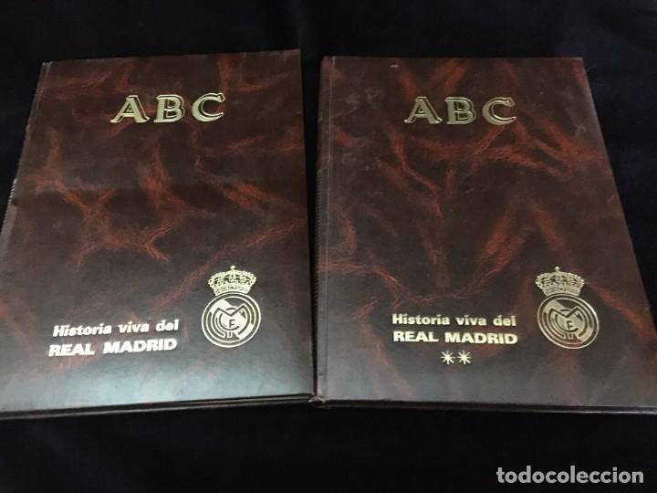 HISTORIA VIVA DEL REAL MADRID ( 1902-1987 ). COLECCIONABLE ABC COMPLETO Y ENCUADERNADO (Coleccionismo Deportivo - Libros de Fútbol)