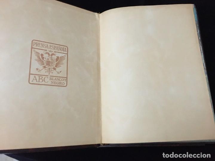 Coleccionismo deportivo: Historia viva del Real Madrid ( 1902-1987 ). Coleccionable ABC completo y encuadernado - Foto 3 - 195353321